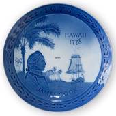 1778-1978 Jubilee plate Royal Copenhagen, James Cook, the Bicentennial of h...