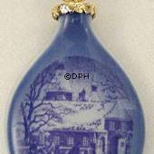 1995 Royal Copenhagen Ornament, Christmas Drop