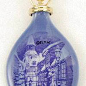 1996 Royal Copenhagen Ornament, Christmas Drop | Year 1996 | No. RJD1996 | Alt. RJD1996 | DPH Trading