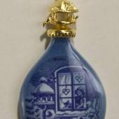 2001 Royal Copenhagen Ornament, Christmas Drop