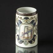 "Mug ""The New Little Belt Bridge"" Oct. 21st, Royal Copenhagen"