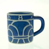 1968 Annual Mug, small, Royal Copenhagen