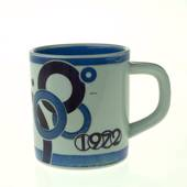 1972 Annual Mug, small, Royal Copenhagen