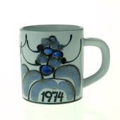 1974 Annual Mug, small, Royal Copenhagen