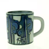 1975 Annual Mug, small, Royal Copenhagen