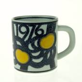 1976 Annual Mug, small, Royal Copenhagen