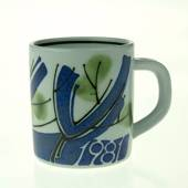 1981 Annual Mug, small, Royal Copenhagen