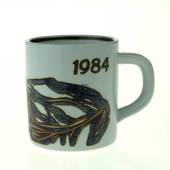 1984 Annual Mug, small, Royal Copenhagen