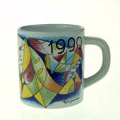 1990 Annual Mug, small, Royal Copenhagen