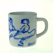 2007 Annual Mug, small, Royal Copenhagen