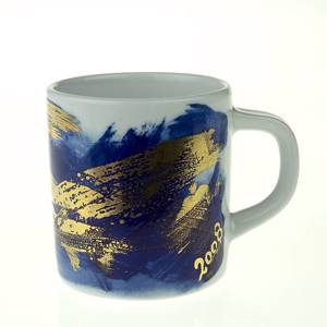 2008 Annual Mug, small, Royal Copenhagen | Year 2008 | No. RKL2008 | Alt. 1408495 | DPH Trading