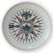1970 Royal Copenhagen Compass plate,
