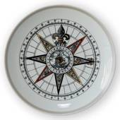 1972 Royal Copenhagen Compass plate,