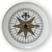 1973 Royal Copenhagen Compass plate,