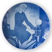 1980 Royal Copenhagen Mother's Day plate, Motherhood
