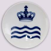 1888 Royal Copenhagen Memorial plate