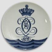1892 Royal Copenhagen Memorial plate