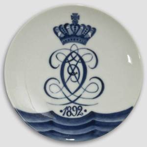 1892 Royal Copenhagen Memorial plate | Year 1892 | No. RNR002 | Alt. no. 2 | DPH Trading