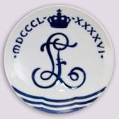 1896 Royal Copenhagen Memorial plate