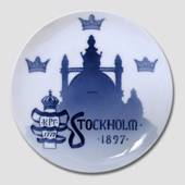 1779-1897 Royal Copenhagen Memorial plate