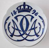 1818-1898 Royal Copenhagen Memorial plate