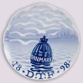 1898 Royal Copenhagen Memorial plate