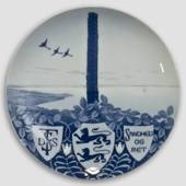 1898 Royal Copenhagen Memorial plate, Truth and Justice