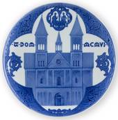 1906 Royal Copenhagen Memorial plate, Viborg Cathedral, A.DOM.MGMVI