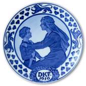 1910 Royal Copenhagen Memorial plate, DKF 1910