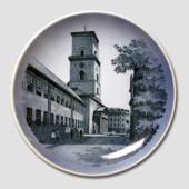 Plate with Copenhagen Cathedral, Royal Copenhagen
