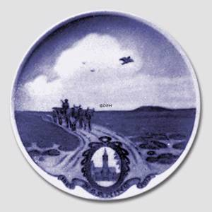 1882-1913 Royal Copenhagen Memorial plate, HERNING | Year 1912 | No. RNR140 | Alt. no. 140 | DPH Trading