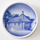 Royal Copenhagen Plaquette no. 16, Hans Christian Andersen's House in Odens...