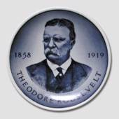 Royal Copenhagen Plaquette no. 178, Theodore Roosevelt, US Presidents