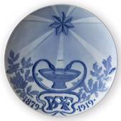 1879-1919 Royal Copenhagen Temperance Movement Memorial plate, 1879 DAF 191...