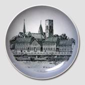 Royal Copenhagen Church plate, Cathedral of Ribe