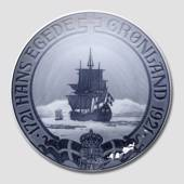 1721-1921 Royal Copenhagen Memorial plate , Hans Egede Mission to Greenland