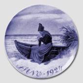 1924 Royal Copenhagen Memorial plate, FANOE 1924