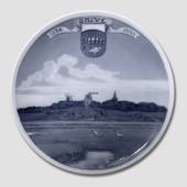 1326-1926 Royal Copenhagen Memorial plate 1326 - SKIVE - 1926.