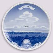 1927 Royal Copenhagen Memorial plate 1727 NIBE 1927