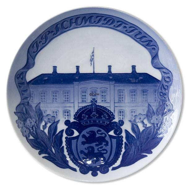 Royal Copenhagen Gedenkteller Wandteller Nr 252 J.P Schmidt Jun 1778-1928