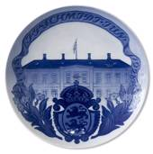 1928 Royal Copenhagen Memorial plate 1778 - J. P. SCHMIDT JUN. - 1928