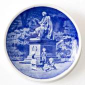 Royal Copenhagen Plaquette no. 48, Hans Christian Andersen in the King's Ga...