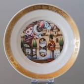 Hans Christian Andersen Fairytale plate, The Steadfast Tin Soldier, Royal C...
