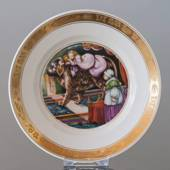 Hans Christian Andersen Fairytale plate, The Tinderbox, Royal Copenhagen