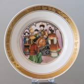 Hans Christian Andersen Fairytale-plate, The Nightingale, Royal Copenhagen