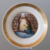 Hans Christian Andersen Fairytale plate, The Little Match Girl, Royal Copen...