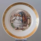 Hans Christian Andersen Fairytale plate, The Red Shoes, Royal Copenhagen