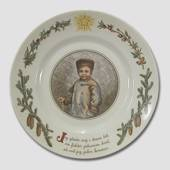Peters jul Christmas plate no. 1, Royal Copenhagen