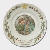 Peters jul Christmas plate no. 2, Royal Copenhagen
