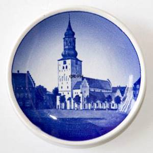 Royal Copenhagen Plaquette no. 67, Budolfi church, Aalborg | No. RNR67-2010 | Alt. KNR800 | DPH Trading